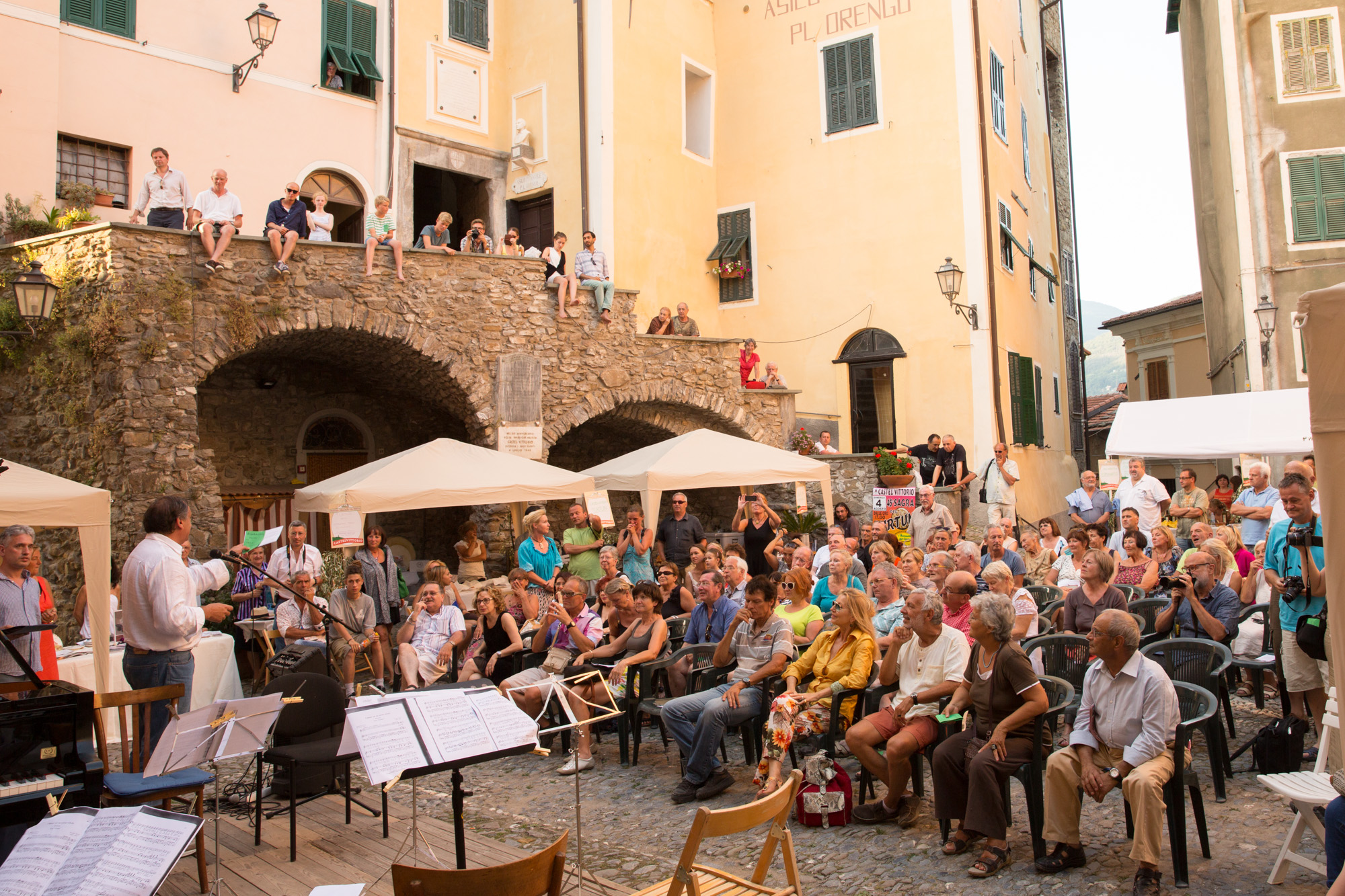 Concert at the piazza