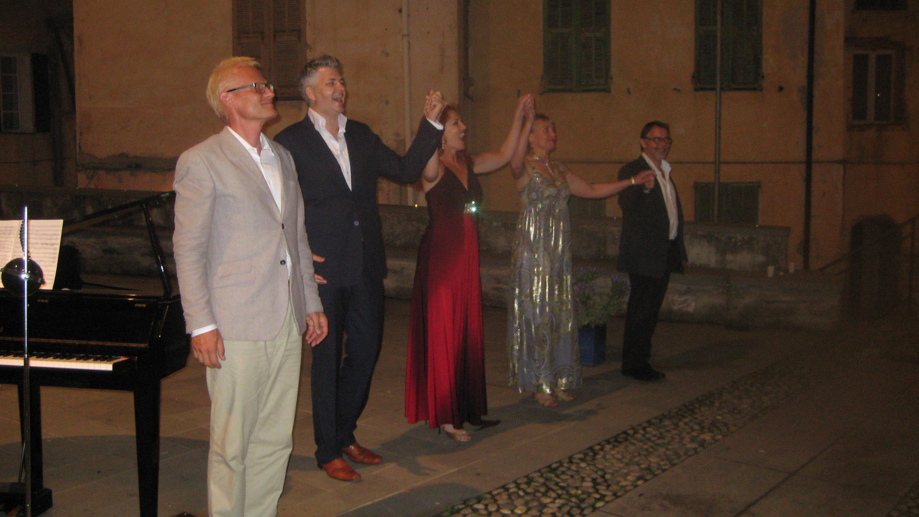 Helene Gjerris, Elsebeth Dreisig, Jørn Pedersen, Thomas Præstegaard and Thomas Rischel
