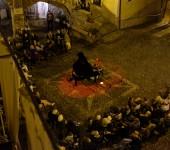 La piazza in Castelvittorio